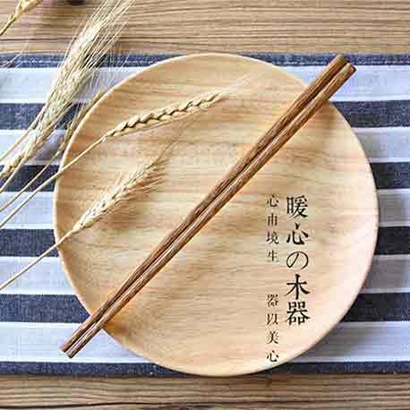精品鸡翅木筷(5双装C022