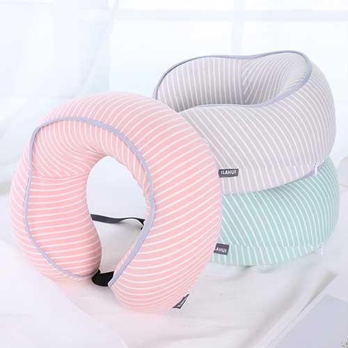 条纹立体U型枕