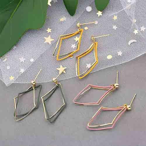 Earrings/简约几何耳钉