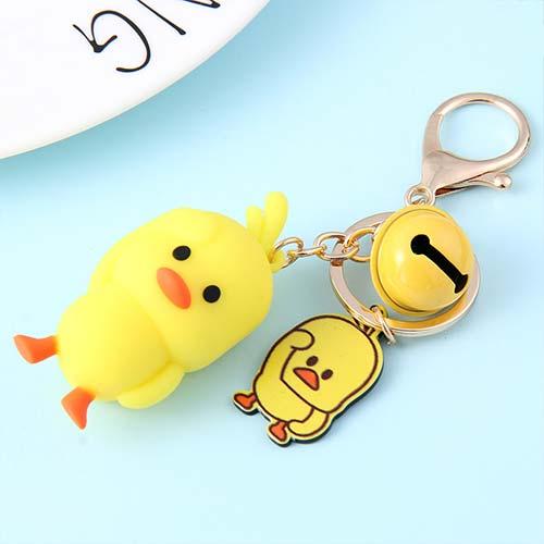 小黄鸭钥匙扣
