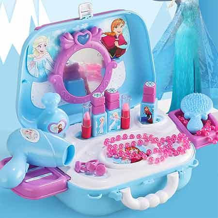 迪士尼化妆玩具背包