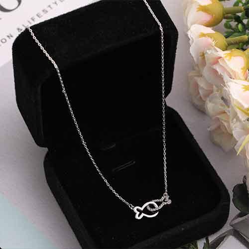 Necklace/亲嘴鱼项链